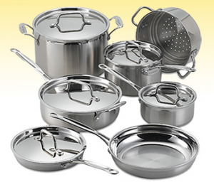 Enter To Win A Cuisinart MultiClad 12-Pc Cookware Set