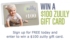 The Zulily $100 Credit Giveaway