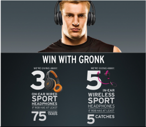 SMS Audio presents Game Day with the Gronk!