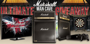 Marshall Ultimate Man Cave Giveaway