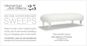 The Mitchell Gold + Bob Williams Silver Anniversary Sweeps