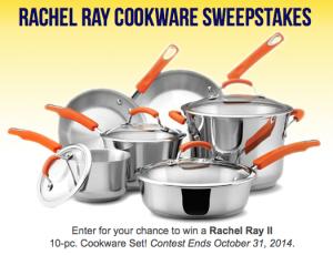 Rachel Ray Sweepstakes