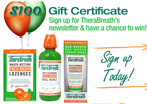 Free TheraBreath Sample And Bad Breath Bible