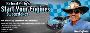 Richard Petty's Start your Engines Sweepstakes