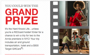 Target REDcard Sweepstakes & Instant Win