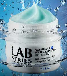 Free Sample Of Lab Series Age Rescue Water Charged Gel Cream For Men