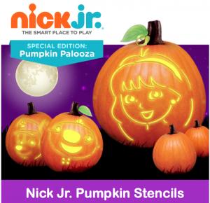 Free Printable Nick Jr. Halloween Pumpkin Stencils