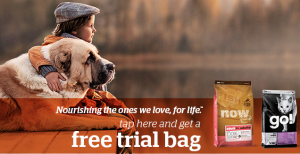 Free 1/2 lb. Bag of Petcurean Dog or Cat Food