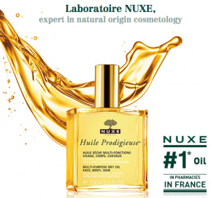 Free Samples Of NUXE Paris Facial, Body, and Hair Oil