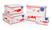 Free USPS Priority Mail Flat Rate Holiday Boxes