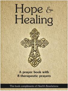 """Free """"Hope & Healing"""" Prayer eBook"""