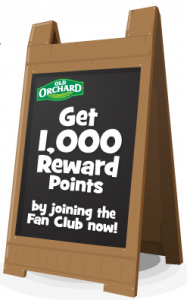 Possible Free Stuff From Old Orchard Juice Fan Club