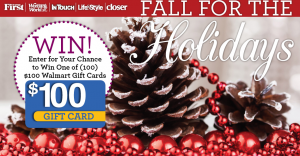 Fall For The Holidays Sweepstakes
