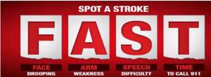 Free Stroke Warning FAST Magnet