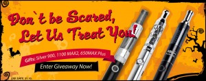 Enter To Win 1 of 3 eCig Starter Kits