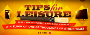 Black & Mild Tips for Leisure Instant Win Game