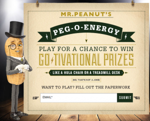 Planters Energy Instant Win Game