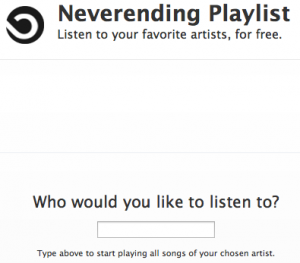 Neverending Playlist