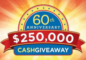 The Raymour & Flanigan 60th Anniversary Instant Win Sweepstakes