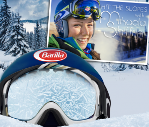 Barilla Hit The Slopes With Mikaela Shiffrin Giveaway