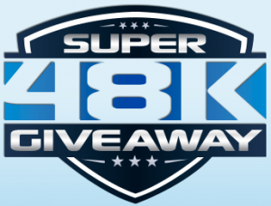 The Super 48K Giveaway presented by h.h. gregg and Samsung