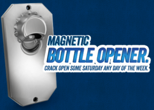 Free Magnetic Bottle Opener From Skoal