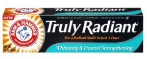 Sample Of Arm & Hammer Truly Radiant Toothpaste