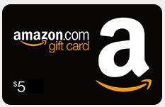 Free $5 Amazon Gift Card From Bing