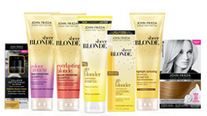 Free Gift When You Purchase a John Frieda Sheer Blonde Product