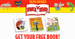 Free Kids Snack 'n' Read Book From Sun-Maid
