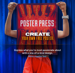Create Your Own Free Poster From Camel