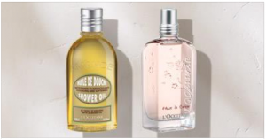 Free Shower Oil Sample At L'Occitane Stores