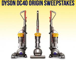 Dyson DC40 Origin Sweepstakes