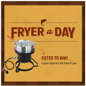 Cajun Injector Fryer-A-Day Giveaway