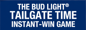 Anheuser-Busch Bud Light Tailgate Time Instant-Win Game