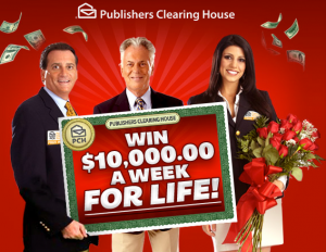 PCH - Win $10,000 A Week For Life!