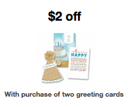 Two Free Greeting Cards From Target