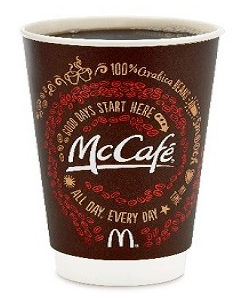 Free Small McCafé Coffee At McDonald's