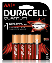 Healthcare Workers - Free 4-Pack Of Duracell Quantum AA Batteries