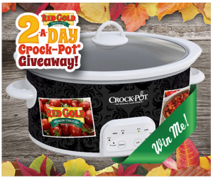 Red Gold Slow Cooker Sweepstakes