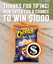 Cheetos Brand Halloween Sweepstakes