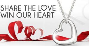 Free Classic Heart Pendant