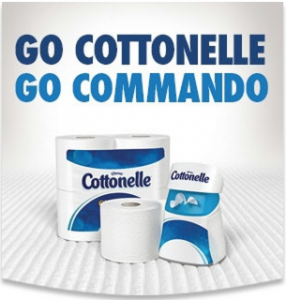 Dare to Go Commando with Cottonelle