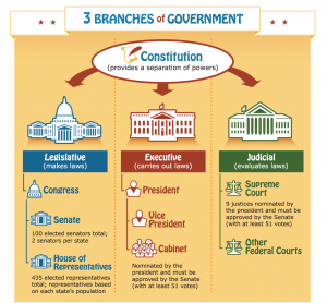 Free Three Branches Of Government Poster