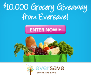 Eversave $10,000 Grocery Giveaway