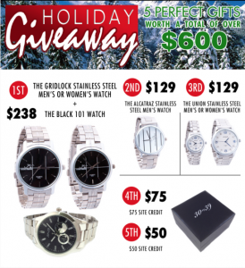 Thirty X Thirtynine Holiday Giveaway
