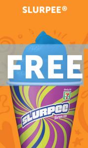 Free Slurpee or Drink At 7-Eleven In August
