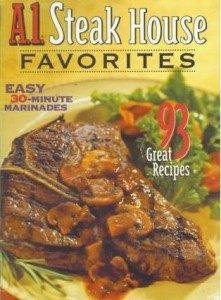 Free A1 Steakhouse Favorites Recipe Booklet