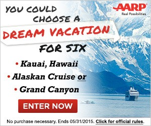 AARP Family Fun Travel Sweepstakes