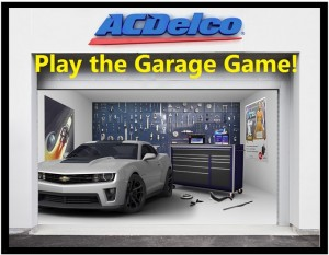 2015 ACDelco Garage Sweepstakes and Instant Win Game